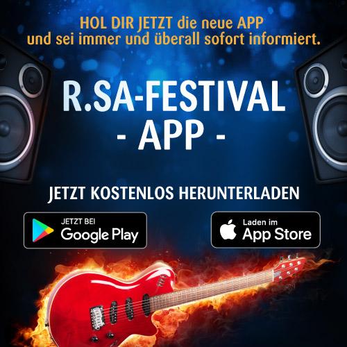 Die R.SA-Festival-App