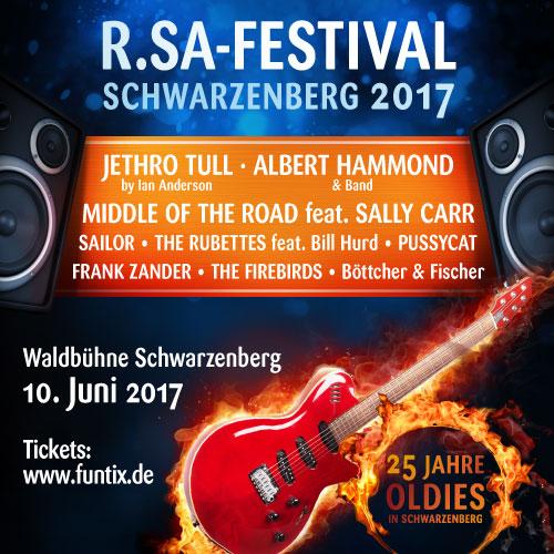 R.SA-Festival 2017 - Vorverkauf gestartet
