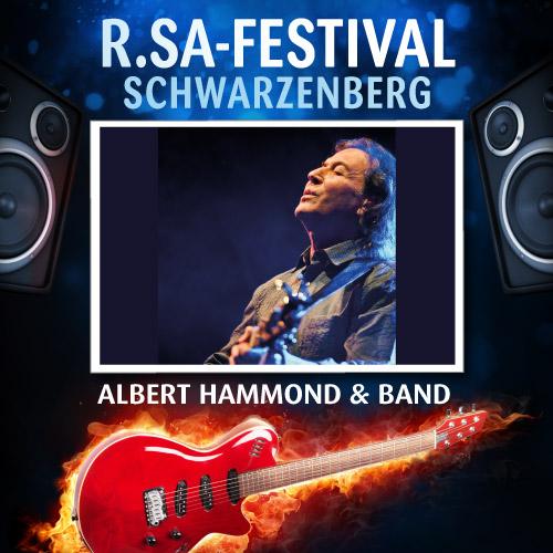 R.SA-Festival mit ALBERT HAMMOND & BAND!