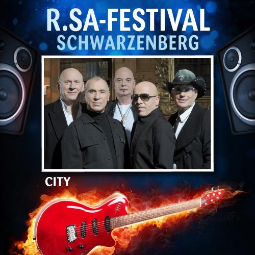 R.SA-Festival mit CITY!