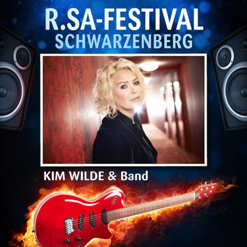 R.SA-Festival mit KIM WILDE & Band!