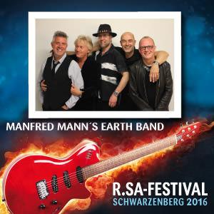 R.SA-Festival mit MANFRED MANN´S EARTH BAND!
