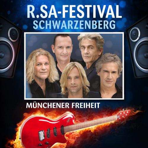 R.SA-Festival mit MÜNCHENER FREIHEIT!
