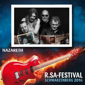R.SA-Festival mit NAZARETH!