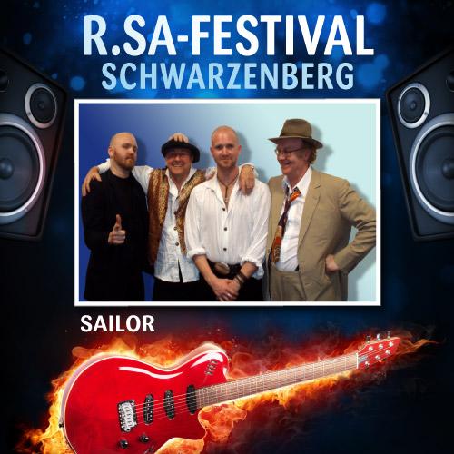 R.SA-Festival mit SAILOR!