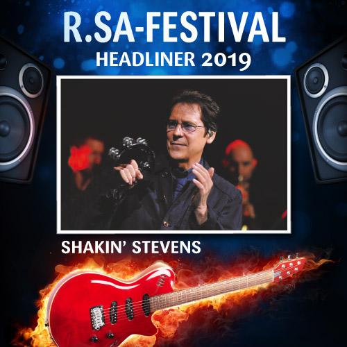 R.SA-Festival mit SHAKIN' STEVENS!