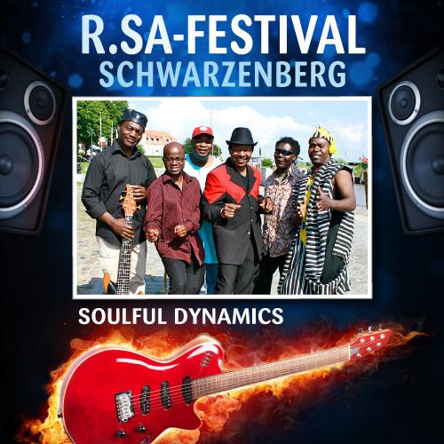 R.SA-Festival mit SOULFUL DYNAMICS!