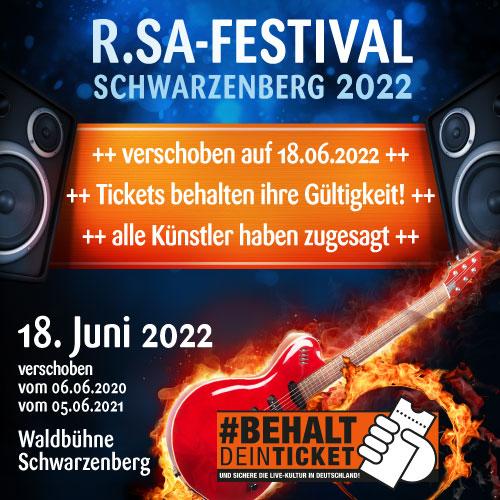 R.SA-Festival gerettet!