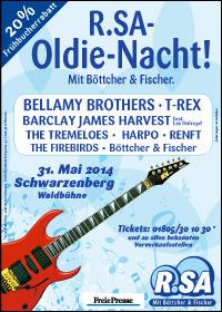 R.SA Oldie-Nacht 2014!