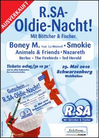 R.SA Oldie-Nacht ist ausverkauft
