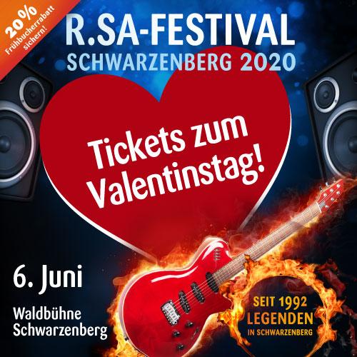 Tickets zum Valentinstag