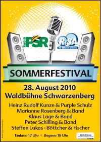 Unser Sommerfestival von RADIO PSR und R.SA
