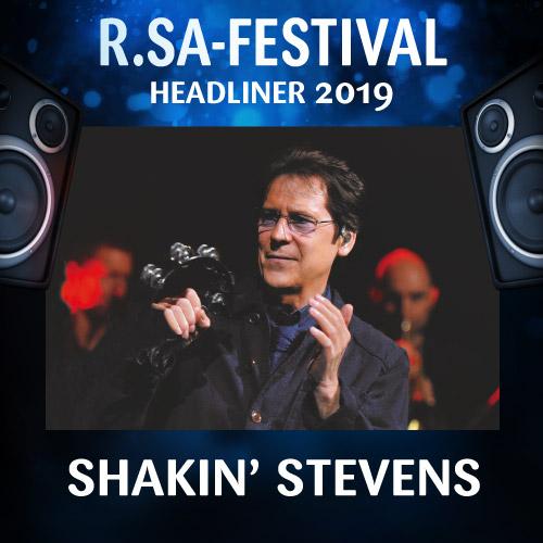 2019 Headliner: SHAKIN' STEVENS